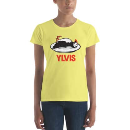 t shirt bird ylvis yellow