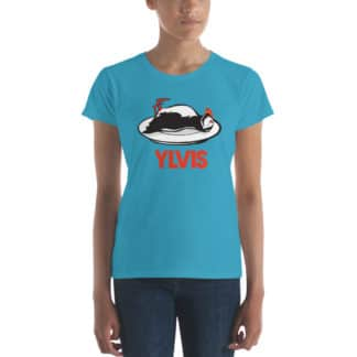 t shirt bird ylvis blue